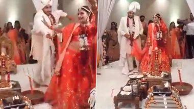 'Pheras' at Wedding Goes Viral: নাচতে নাচতেই সাত পাকে ঘুরলেন বর-কনে, 'অপসংস্কৃতি' বলে তোপ নেটিজেনদের; ভিডিও ঘিরে তুমুল সমালোচনার ঝড়