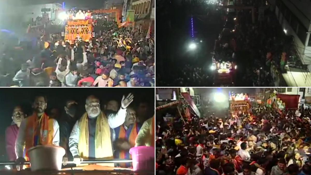 West Bengal Assembly Election 2021: খড়গপুরে হিরণ চট্টোপাধ্যায়ের সমর্থনে রোড শো স্বরাষ্ট্রমন্ত্রী অমিত শাহের