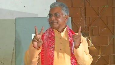 Dilip Ghosh Casts His Vote: ভোট দিলেন বিজেপির রাজ্য সভাপতি দিলীপ ঘোষ