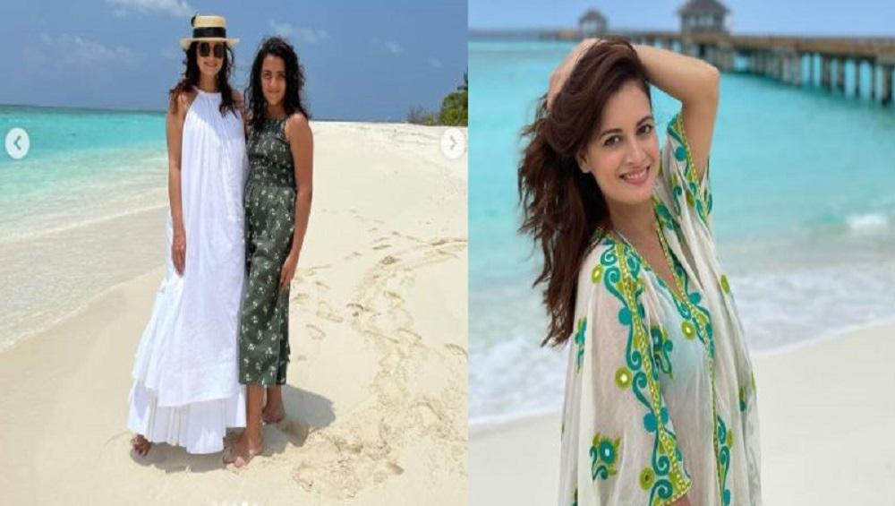 Dia Mirza In Maldives : সৎ মেয়েকে নিয়ে মালদ্বীপে দিয়া মির্জা