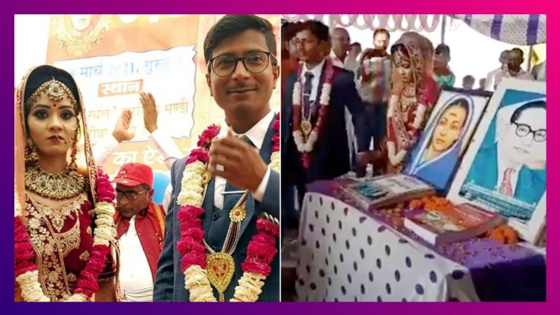 Young Couple Marry At Farmers' Protest Site In Rewa: কৃষক-চাষীদের প্রতিবাদস্থলে বিয়ে করলেন এই দম্পতি