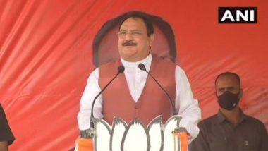 WB Assembly Elections2021: 'নন্দীগ্রামে খেলা শেষ, মমতা দিদি ভয় পেয়েছেন'; জেপি নাড্ডা