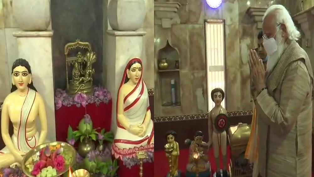 PM Modi In Bangladesh : ভোট বাজারে মতুয়া আবেগে শান, ওড়াকান্দির মন্দিরে মোদী