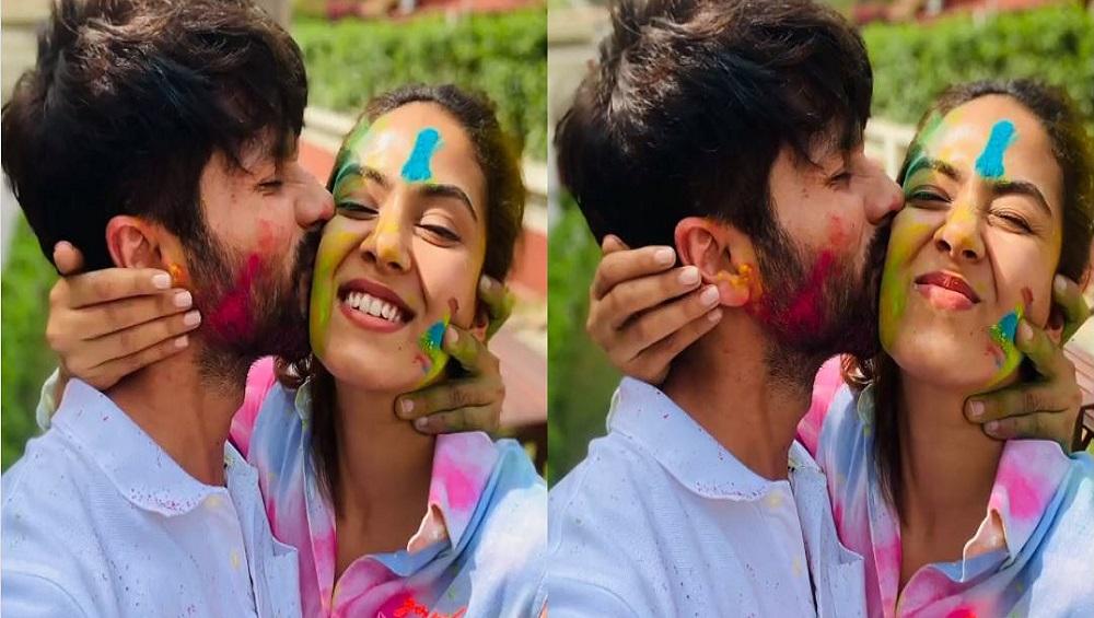 Holi 2021: আবীরে, আদরে মীরাকে ভরালেন শাহিদ, ভাইরাল ভিডিয়ো