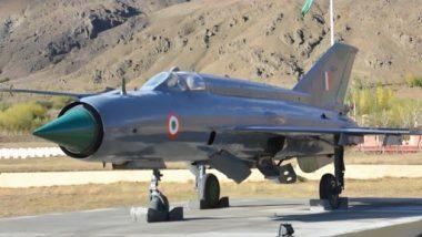 MiG-21 Bison Crash: ভেঙে পড়ল বায়ুসেনার মিগ-২১ বাইসন যুদ্ধবিমান, মৃত্যু পাইলটের