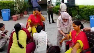 Rajasthan: কোভিড পরিস্থিতিতে মেলেনি ছুটি, পুলিশ স্টেশনেই গায়ে হলুদ মহিলা কনস্টেবলের