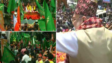 Amit Shah at Kalimpong: পঞ্চম দফার প্রচারে কালিম্পং পৌঁছলেন অমিত শাহ
