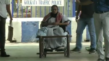 Mamata Banerjee Sits On Dharna: গান্ধি মূর্তির পাদদেশে ধরণা শুরু করলেন তৃণমূল নেত্রী মমতা বন্দ্যোপাধ্যায়