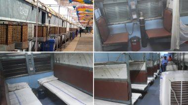Indian Railways: হাসপাতালে বেড সঙ্কট; ৪,০০২টি ট্রেনের কোচকে কোভিড কেয়ার কোচে পরিণত করল ভারতীয় রেল