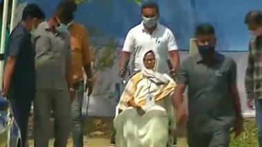 West Bengal Election 2021: বুথে বুথে ঘুরতে নন্দীগ্রামের বাড়ি থেকে বেরলেন মমতা বন্দ্যোপাধ্যায়