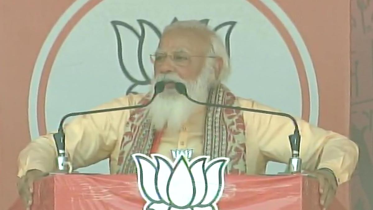 PM Narendra Modi From Jaynagar Rally: 'দ্বিতীয় দফার নির্বাচনে বাংলা জুড়ে বিজেপির ঢেউ': জয়নগরের সভায় নরেন্দ্র মোদি