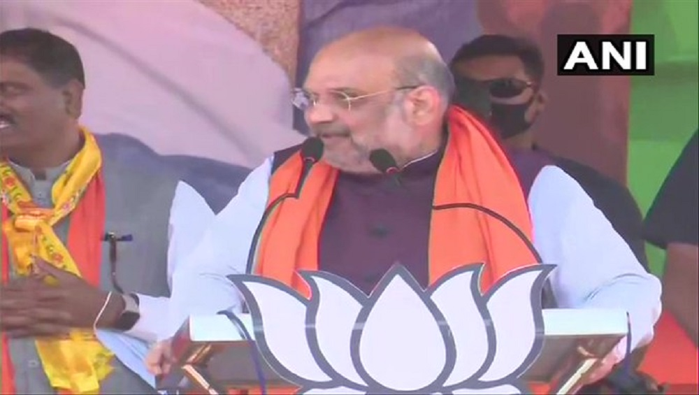 West Bengal Assembly Election 2021 : 'নন্দীগ্রাম থেকে হারছেন দিদি': অমিত শাহ