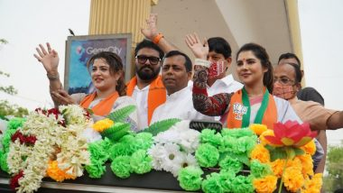 West Bengal Assembly Election 2021 : বাবুলের সঙ্গে শ্রাবন্তী,পায়েল, বেহালায় প্রচার ৩ তারকার