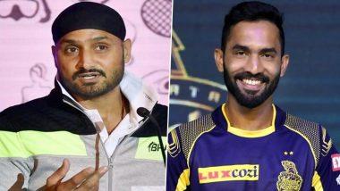 IPL 2021: 'হরভজন একেবারে অন্য মানুষ, দারুন পারফর্ম করবেন', আশাবাদী কেকেআর-র দীনেশ কার্তিক