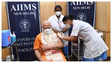 Modi Takes Second Dose Of Vaccine: ভ্যাকসিনের দ্বিতীয় ডোজ নিলেন প্রধানমন্ত্রী নরেন্দ্র মোদি