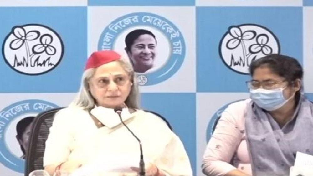 West Bengal Assembly Election 2021 : মাথা ভাঙা, পা ভাঙা নিয়ে লড়ছেন মমতা, তৃণমূলের পাশে জয়া