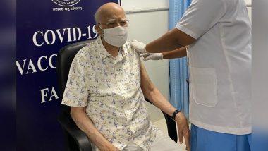 LK Advani: এইমসে করোনার দ্বিতীয় ভ্যাকসিন নিলেন বিজেপির বরিষ্ঠ নেতা লালকৃষ্ণ আডবাণী