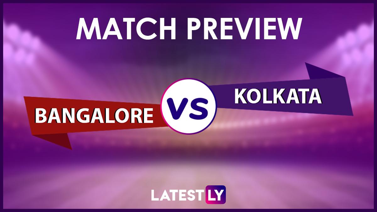 RCB vs KKR: আইপিএলে আজ রয়্যাল চ্যালেঞ্জার্স ব্যাঙ্গালোর বনাম কলকাতা নাইট রাইডার্স, জেনে নিন দুই দলের সম্ভাব্য একাদশ ও পরিসংখ্যান