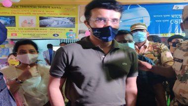 West Bengal Assembly Election 2021 : ভোট দিলেন সৌরভ গঙ্গোপাধ্যায়