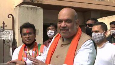 West Bengal Assembly Election 2021: 'ভবানীপুর কেন্দ্রে জিতেছেন রুদ্রনীলই': অমিত শাহ