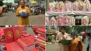 Poila Boishakh 2021: নববর্ষে কালীঘাটে চলছে মায়ের পুজো; হাল খাতা, লক্ষ্মী পুজোর মধ্যে দিয়ে উৎসব পালন