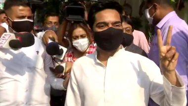 West Bengal Assembly Elections 2021: মিত্র ইনস্টিটিউশনে ভোট দিলেন তৃণমূল সাংসদ অভিষেক বন্দ্যোপাধ্যায়