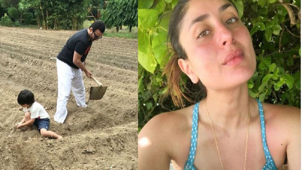 Kareena Kapoor Khan: 'আরও গাছ লাগান', ধরিত্রী দিবসে মাটির কাছাকাছি সইফ, তৈমুর