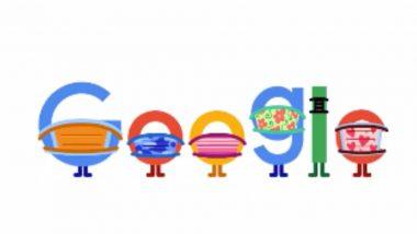 Google Doodle: 'মাস্ক পরুন জীবন বাঁচান', করোনাভাইরাস প্রতিরোধে গুগলের নয়া ডুডল