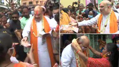 Door-to-door Campaign of Amit Shah: ভবানীপুরে বাড়ি বাড়ি প্রচারে কেন্দ্রীয় স্বরাষ্ট্রমন্ত্রী অমিত শাহ