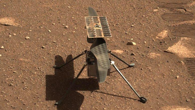 Mars Helicopter of NASA: মঙ্গলের মাটি স্পর্শ করল নাসার মার্স হেলিকপ্টার 'ইনজেনুইটি'