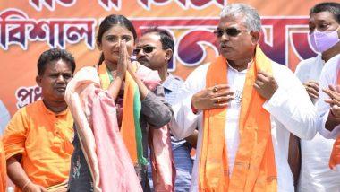 West Bengal Assembly Election 2021 : বরাহনগরে বিজেপির পার্নো মিত্রর মিছিলে হামলার অভিযোগ