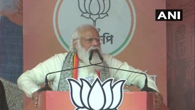 West Bengal Assembly Election 2021 : 'তপশিলি,দলিতের বিরুদ্ধে ঘৃণা ছড়াচ্ছেন', মমতার বিরুদ্ধে তোপ মোদীর