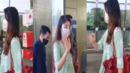 Rhea Chakraborty : ক্যামেরার সামনে চুপ, মুখে মাস্ক এঁটে বিমানবন্দরে হাজির রিয়া