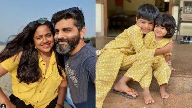 Sameera Reddy Test COVID-19 Positive : দুই সন্তানের সঙ্গে করোনায় আক্রান্ত সমীরা রেড্ডি
