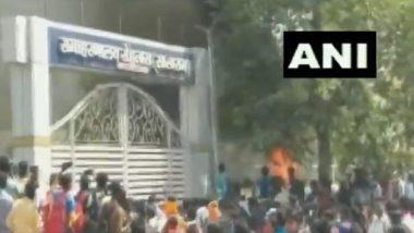 Bihar: কোভিড বিধি শিঁকেয়, পুলিসের উপর পাথর বৃষ্টি বিহারের সাসারামে