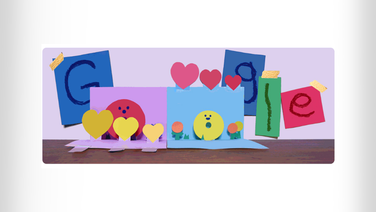 Mother's Day 2021 Google Doodle: মাদার্স ডে উপলক্ষে পপ-আপ কার্ডে বিশ্বের সকল মায়েদের শুভেচ্ছা প্রদান গুগল ডুডলের