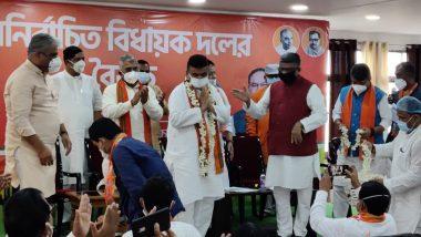 Suvendu Adhikari: বিরোধী দলনেতা বিজেপির শুভেন্দু অধিকারী, নাম ঘোষণা মুকুল রায়ের