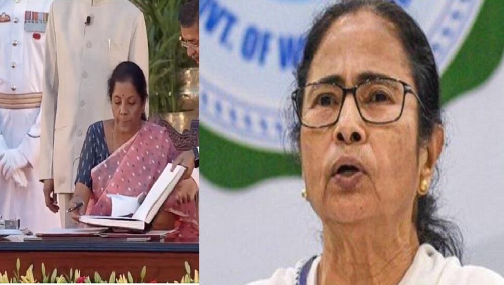 Nirmala Sitharaman: কোভিড ভ্যাকসিনে কর কেন? মমতাকে ট্যুইটে জবাব নির্মলার