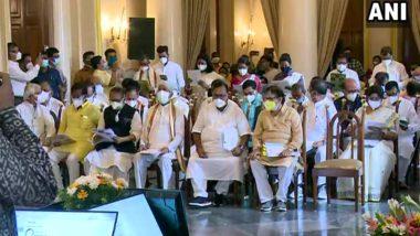 Swearing-In Ceremony Of Mamata Banerjee's Cabinet: করোনাকাল, ৭ মিনিটে শপথ নিল মমতার মন্ত্রিসভা
