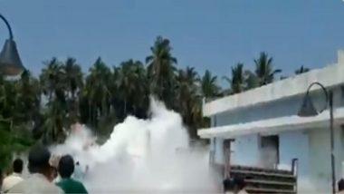 Goa: গোয়ার হাসপাতালে অক্সিজেন ট্যাঙ্কার লিক, দেখুন ভিডিয়ো