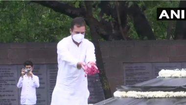 Rajiv Gandhi Death Anniversary: রাজীব গান্ধীর মৃত্যু বার্ষিকীতে রাহুলের শ্রদ্ধার্ঘ্য, দেখুন ছবি