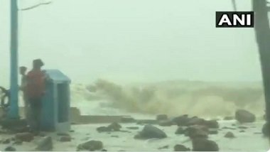 Cyclone Yaas: ঘূর্ণিঝড় য়াসের ল্যান্ডফল, দিঘায় ভয়ঙ্কর জলোচ্ছ্বাস দেখুন