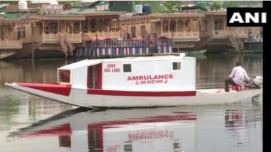 Floating Ambulance: করোনাকালে রোগীর সাহায্যার্থে, শিকারাকে ভাসমান অ্যাম্বুল্যান্স বানালেন এই কাশ্মীরি