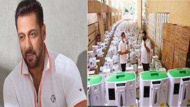 Salman Khan: ৫০০ অক্সিজেন কনসেনট্রেটর, কোভিড মোকাবিলায় দরাজ সলমন