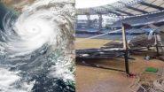 Cyclone Tauktae: সাইক্লোন তকতের জেরে ওয়াংখেড়ে স্টেডিয়ামের অবস্থা কেমন হল দেখুন