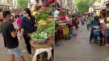 Hyderabad: তেলেঙ্গানাতে উঠল লকডাউন, বিধি মেনে রবিবারের বাজারে আম জনতা