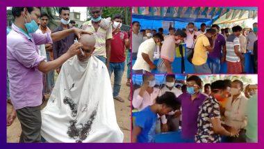 BJP-র 'ভাইরাস' তাড়াতে তৃণমূলের 'স্যানিটাইজেশন', ভাইরাল ভিডিয়ো