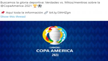 Copa America Tournament 2021: ব্রাজিলে হচ্ছে চলতি বছরের কোপা আমেরিকা ফুটবল টুর্নামেন্ট