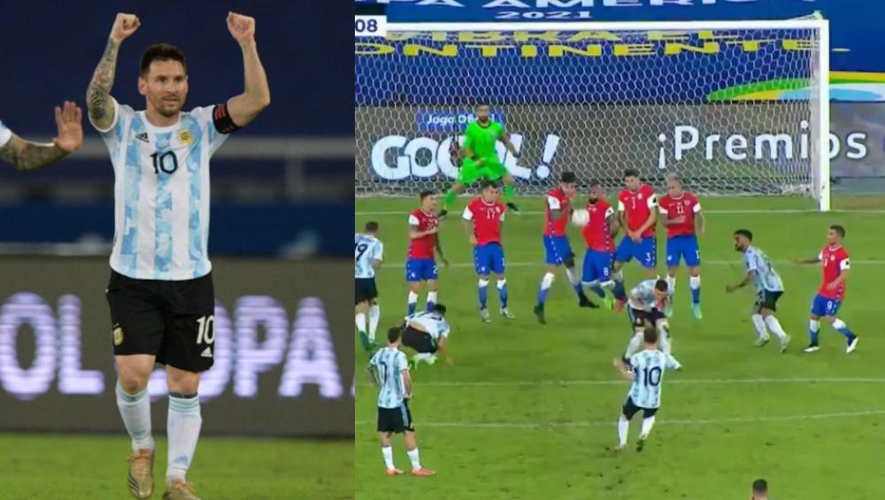 Argentina VS Chile, Copa America 2021: বাঁ পায়ের অনবদ্য গোলে মেসি ম্যাজিক, জয় অধরা আর্জেন্টিনার