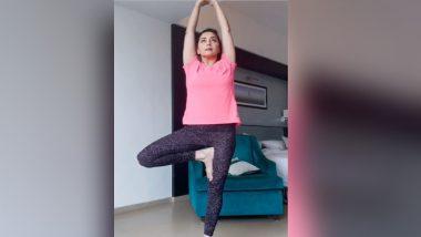 International Yoga Day 2021: ইনস্টাগ্রামে যোগাভ্যাসের ভিডিও শেয়ার করলেন মাধুরী দীক্ষিত